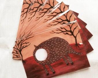 Postcard of illustration (Mystery)