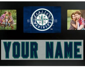 Seattle Mariners  MLB Jersey Custom Picture Frame
