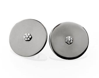 Large Circle Earring