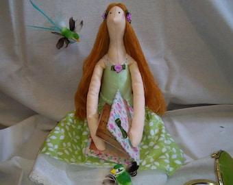 The doll is soft. Book of Tilda.Internaya doll
