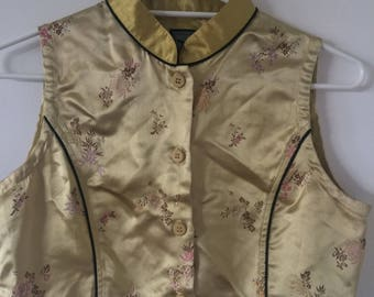 Vintage Oriental Crop Top