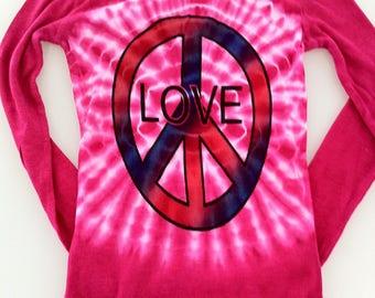 Ladies Love Peace Henley