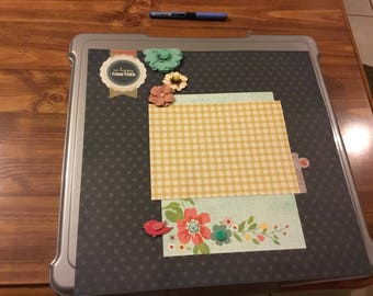 12 x 12 So Happy Together Single Page Layout