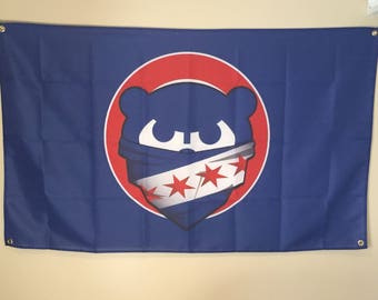 Chicago Cubs Wall Flag