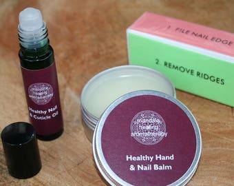 Healthy Nail range - nail & cuticle oil, balm, buffer