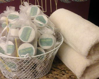 Samples of Body Butter, Body Scrub and Everything Oil