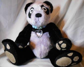 """OOAK panda bear 16"""" Ling"""