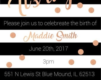 Baby Shower Invitation 1