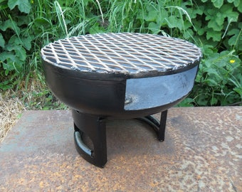 Handmade barbecue | BBQ | grill | outdoor cooking | firepit