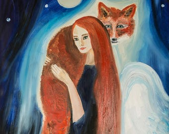 Angel with Fox (Soulmates)