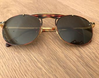 Police Tortoise Shell Retro Sunglasses