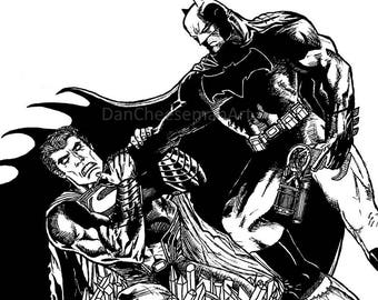 Batman V Superman Medium Print