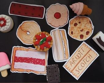 Cookie Sticker Set
