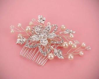 Wedding hair comb,Bridal hair comb,wedding hair piece,Bridal hair piece,Bridesmaid