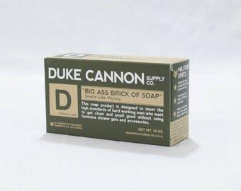 Duke Cannon Big Ass Brick of Soap Green Bar Smells Like Victory