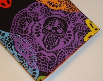 SALE SALE SALE - 20% Off 2016 - 2017  Weekly Academic Planner - Folklore Sugar Skulls / Papel Bonito Journal / Student Calendar & Agenda - O