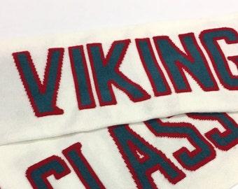 Custom Design Knit Scarf - Sports, Stadium, Special Occasion, Wedding Party, School, Soccer, Fundraising, Football, Lacrosse, Knitting