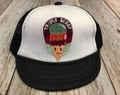 "Girl's  Infant Trucker Hat with ""Triple Scoop&..."