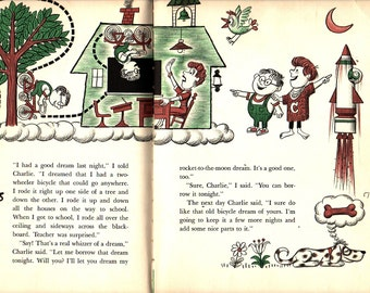 My Friend Charlie - James Flora -  1964 - Vintage Kids Book
