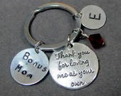 Bonus Mom,Step Mom Gift, Godmother gift, GodFather Gift, Step Dad Gift, Favorite Teacher Gift, Mother In Law gift,Free Shipping In USA