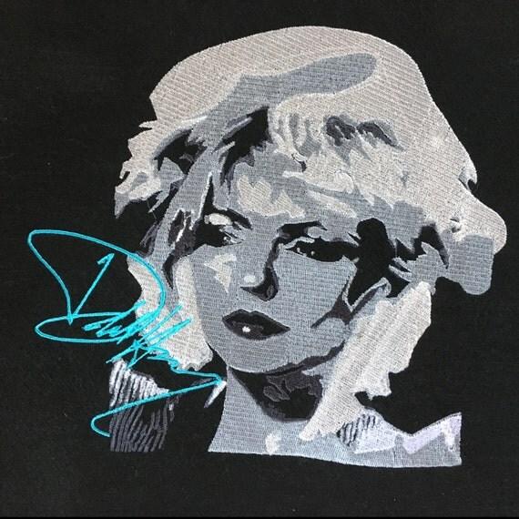 Deborah (Debbie) Harry - Blondie - Embroidery Pattern