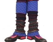 Alpine Smurf Legwarmers