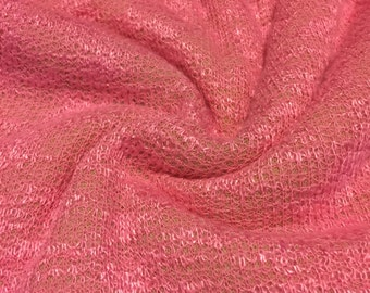 Speckled  Sweater Knit Fabric 1-3/4 Yards