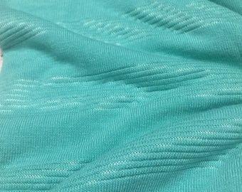 Mini Stripes Design Sweater Knit Fabric 2 Yards