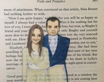 Custom Wedding Portrait for Valentina