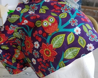 Owl Be Good Hattie Style...............Surgical Hat....Bakers Hat