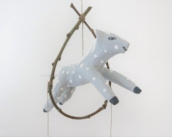 Moon Pony Dream Catcher Dappled Gray Horse Mobile