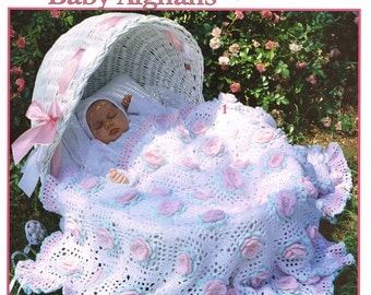 Sweet as a Rose Baby Afghans crochet pattern book