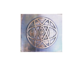 We are so much alike, Handcut Copper, Sacred Geometry