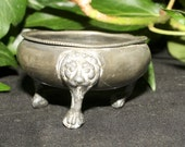Antique Cauldron for a Wiccan Altar, Ritual, Offering Bowl - Pagan, Witchcraft, Magic, Upcycled