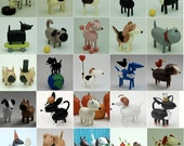 Custom Dog figures - Reserved for reserved for danlauer68
