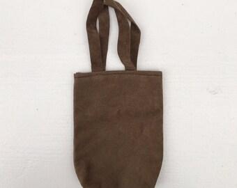SALE fake leather tote  bag