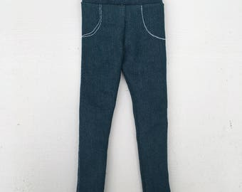doll jeans greenish blue