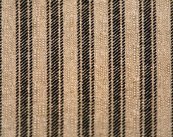 Premier Prints FABRIC - Hayes Denton - Black Oatmeal