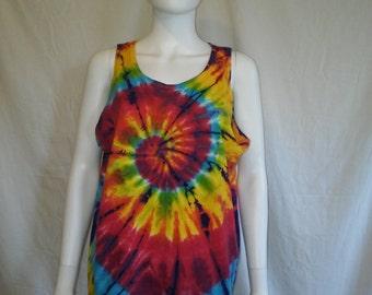 Tie dye tank top t shirt