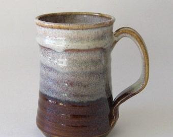 Stoneware Coffee Mug - Coffee Latte Glaze