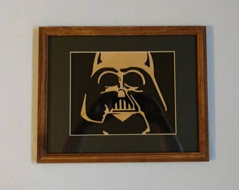 Darth Vader Scroll art