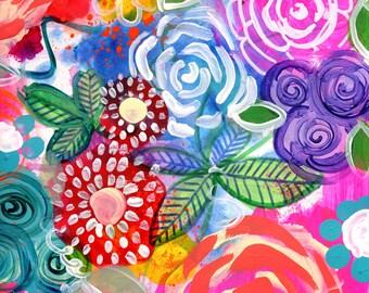 Flora 3 Flower Art Print