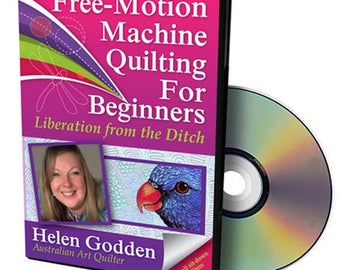 Free-Motion Machine Quilting For Beginners