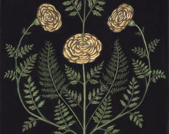 Marigolds - Original Painting
