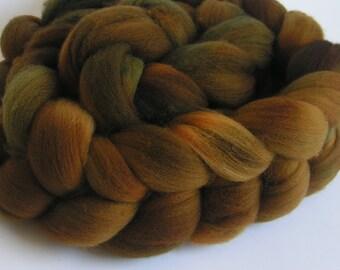 CHOCOLATE SOUP Merino Fine Top Roving Wine Spin Felt Craft 4 ounces handspinning felting wool soft