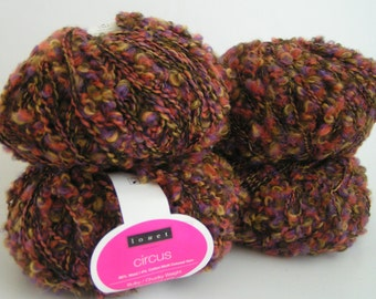 YARN CIRCUS Louet Multi Color 11 Lot 17610 Approx 50 grams approx 110 yards wool Cotton CLEARANCE Sale