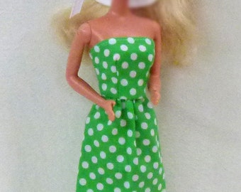 "11.5"" fashion dolls Handmade dress and hat"