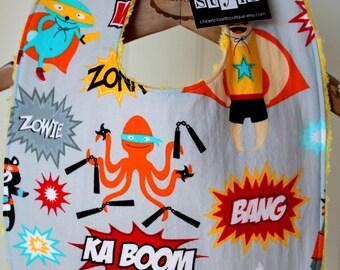 Baby Bib...superhero
