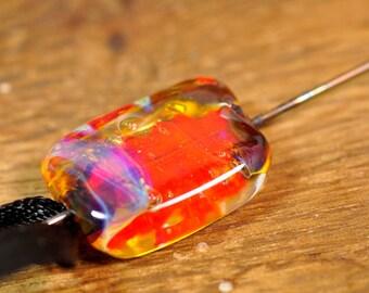 Spinner's Fetch Hook (Orifice hook) Orange Bubbles (1)