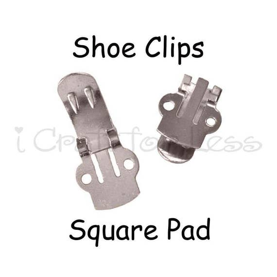 Shoe Clips Blanks - 10 (5 pairs) - SEE COUPON